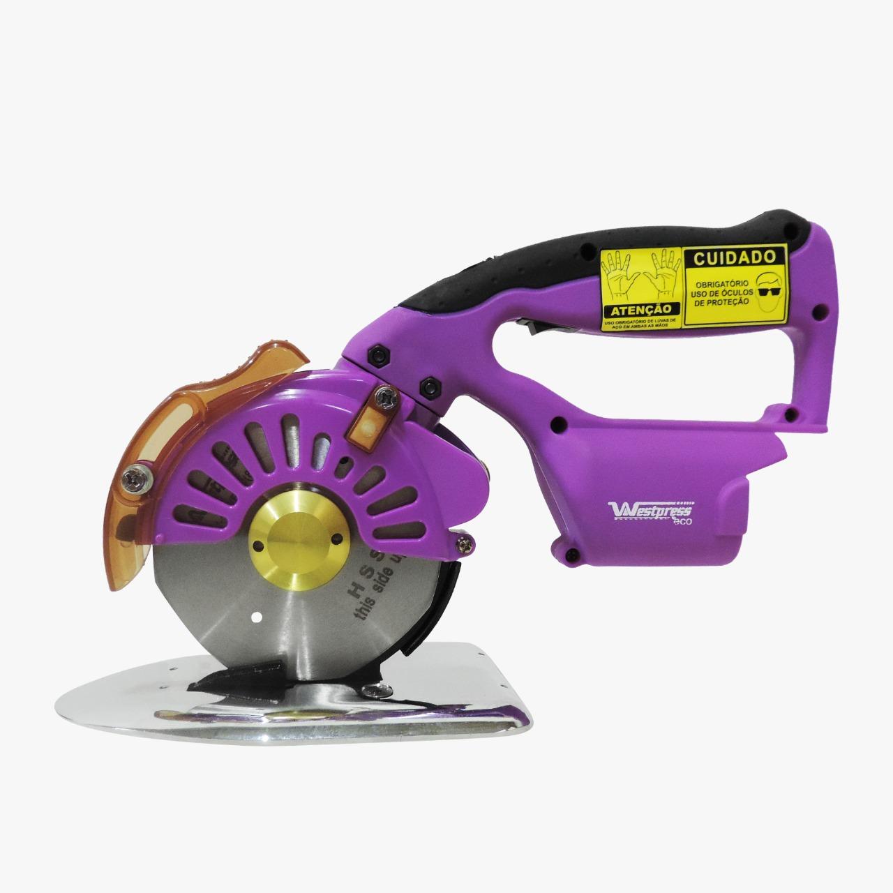 Máquina de Corte Sem Fio com disco de 4
