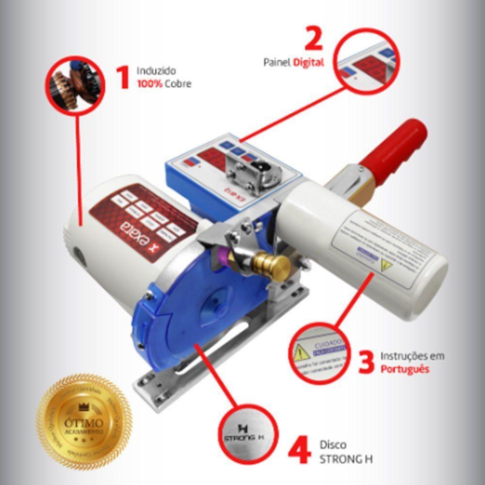 Máquina de corte Fim de Enfesto EXATA EX - B12 - Disco 4 1/4