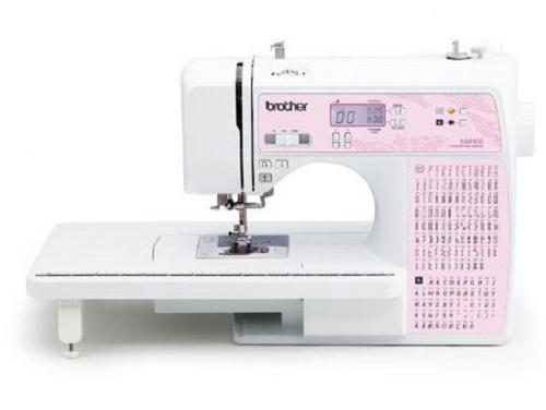 Máquina de Costura Brother SQ9100 - Maquina eletrônica com 100 pontos, 1 fonte de letra, 8 Caseados e 8 pontos de aplique