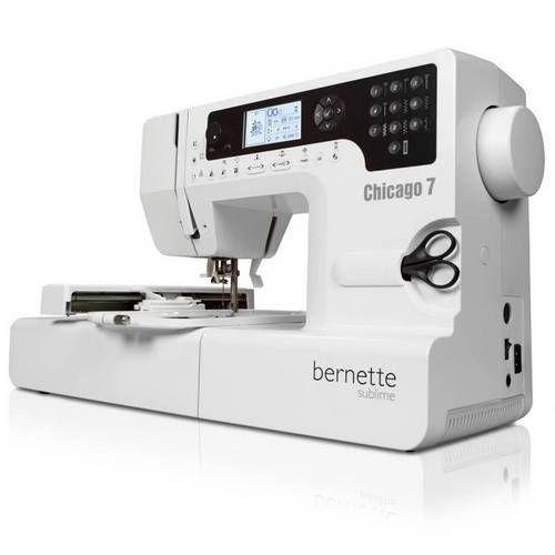 Máquina de Costura e Bordado Chicago 7 - Bernette