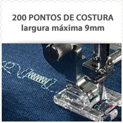 Máquina de Costura e de Bordado JANOME 9900