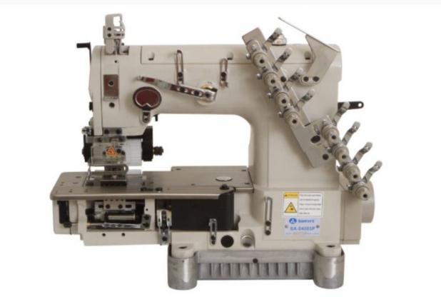 Máquina de costura Elastiqueira 4 agulhas com catraca SANSEI SA-04085P - BIVOLT