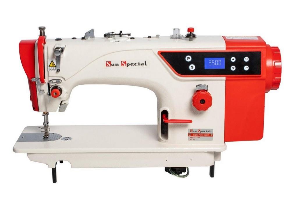 Máquina de Costura Industrial Reta SUN SPECIAL SS-18D Direct Drive