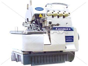 Máquina de Costura Interloque 5 Fios Bitola Larga LANMAX LM 505 AM NOC