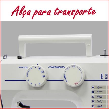 Máquina de Costura JANOME 2008S - 14 tipos de pontos