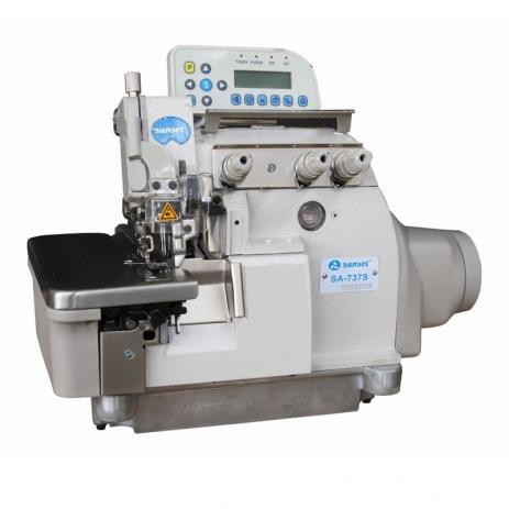 Máquina de Costura Overloque Eletrônica Sansei SA-737S