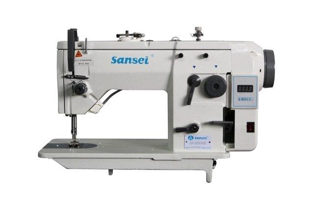 Máquina de Costura reta e Zig Zague SANSEI 20U93D - Motor Direct Drive e lubrificação automática