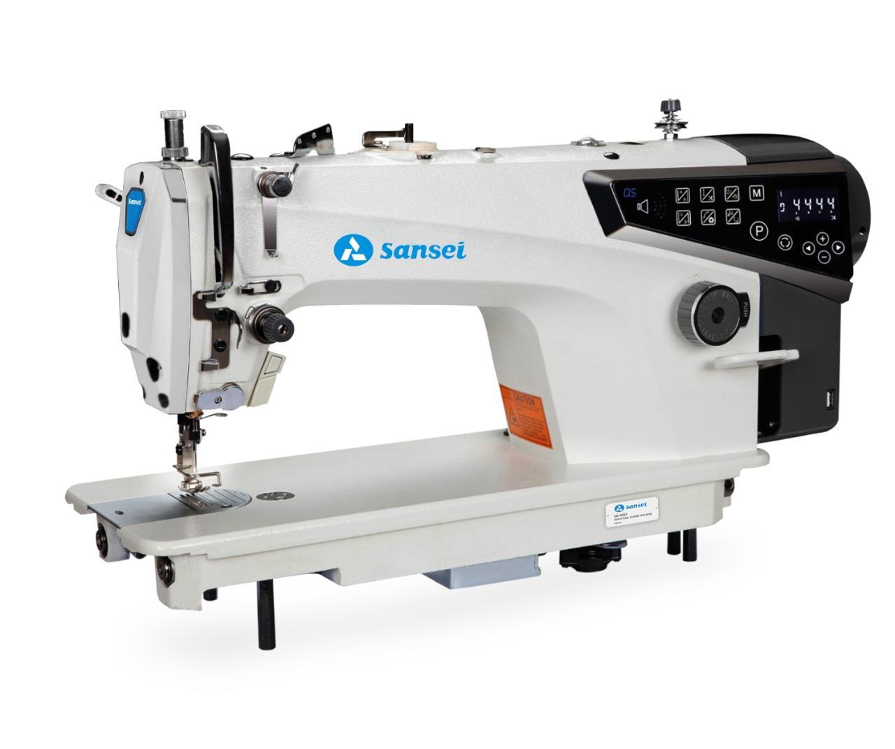 Máquina de costura Reta SANSEI SA-MQ5 com motor Direct Drive e lançadeira Japonesa