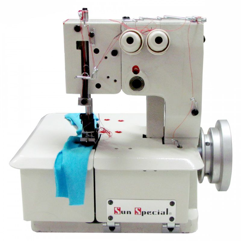Máquina de Costura Semi Industrial Galoneira Base Plana - SS2600 - Portátil