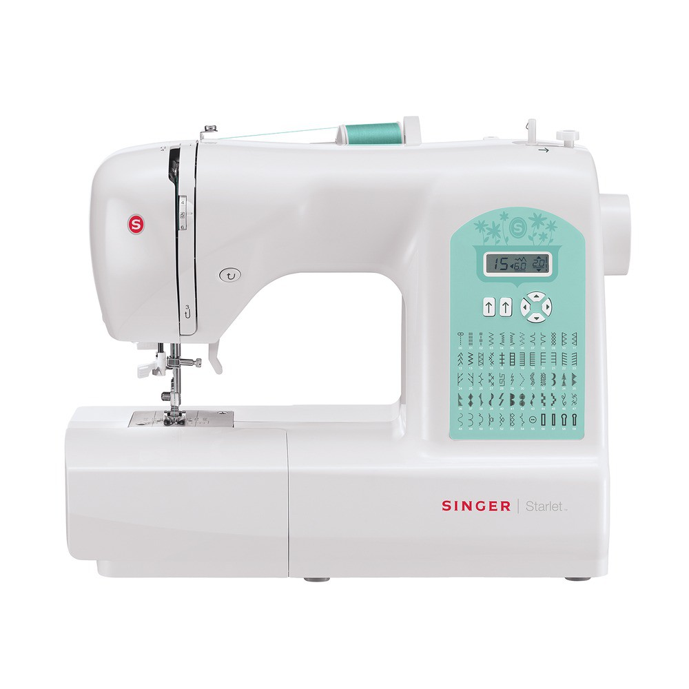 Máquina de Costura SINGER Starlet 6660 Com 56 Pontos