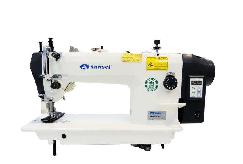 Máquina de costura Transporte Duplo SANSEI Direct Drive SA-M303D