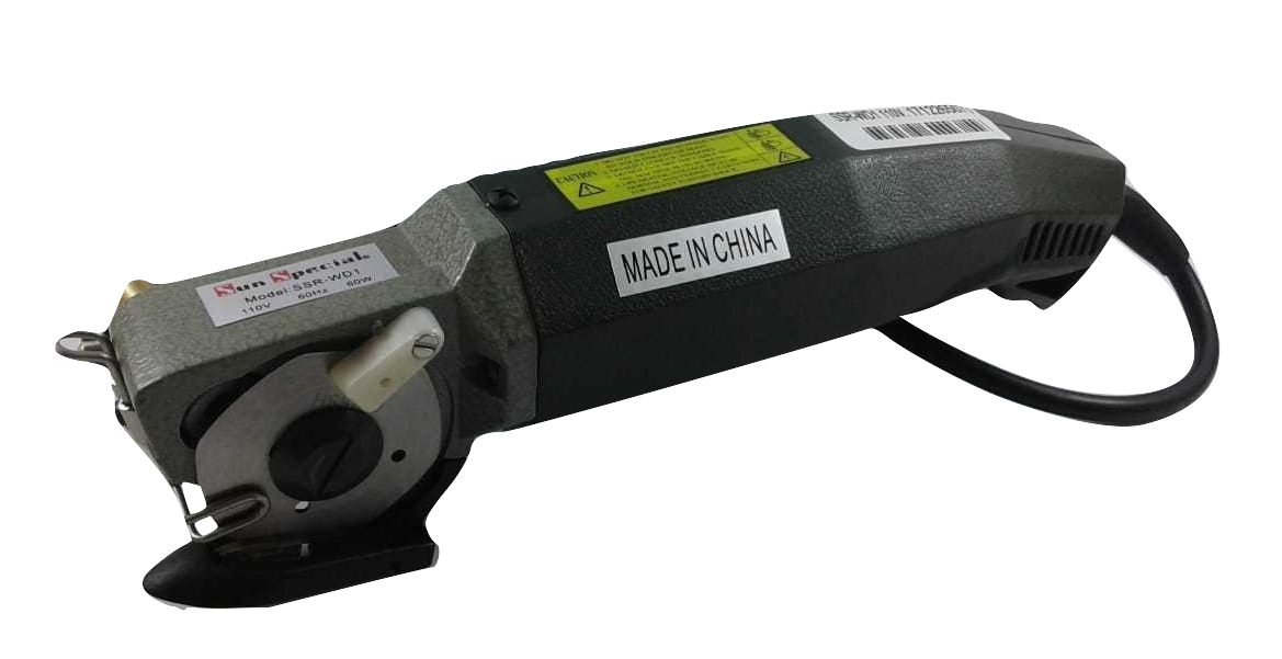 Máquina para Cortar Tecidos Bananinha - Disco Hexagonal de 2 polegadas 60 Watts SSR-WD1