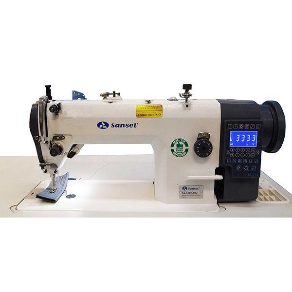 Máquina Reta Eletrônica Lançadeira Grande Sansei SA-202E-TD4
