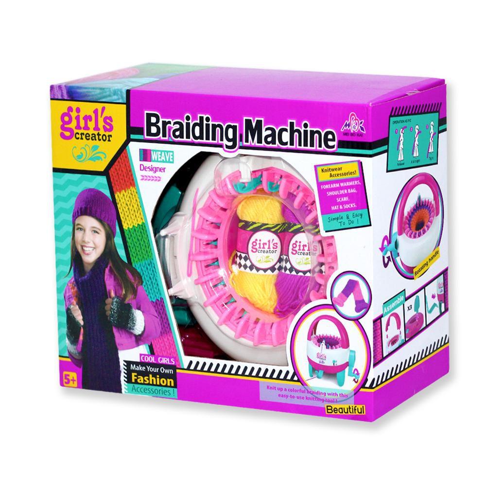 Mini máquina para fazer Trico 22 agulhas - Faz Gorros, Meias, Toucas e cachecol