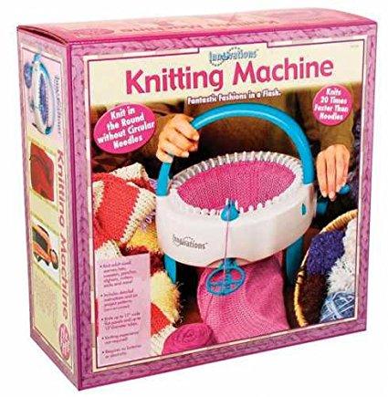 Mini máquina para fazer Trico - Faz Gorros, Meias, Toucas e cachecol