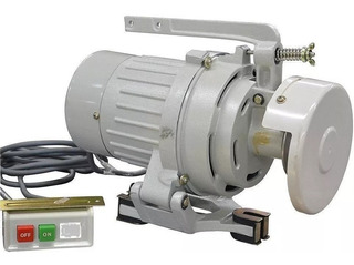 Motor para máquina de costura industrial SINGER Bivolt 400 Watts 3450 RPM