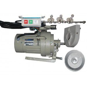 Motor para máquina Overloque e Galoneira Semi Industrial FOX FY-888 Bivolt 180 Watts 1750 RPM