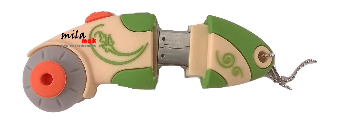 Pen Drive Cortador Circular - 2 GB