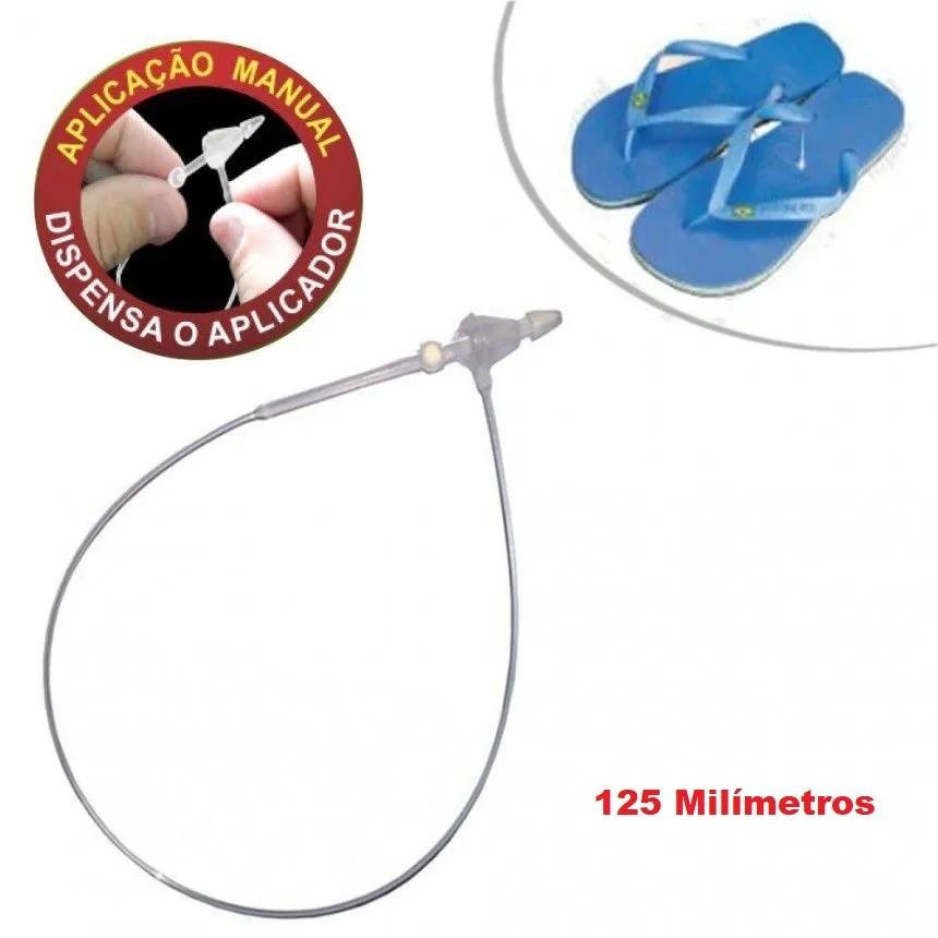 Pino Tag Trava Anel Para Etiquetas Lacre 125mm - 5.000 unidades