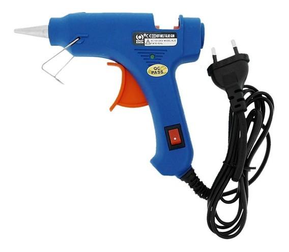 Pistola de Cola Quente LANMAX Bivolt 13 Watts para cola 12mm G2-40