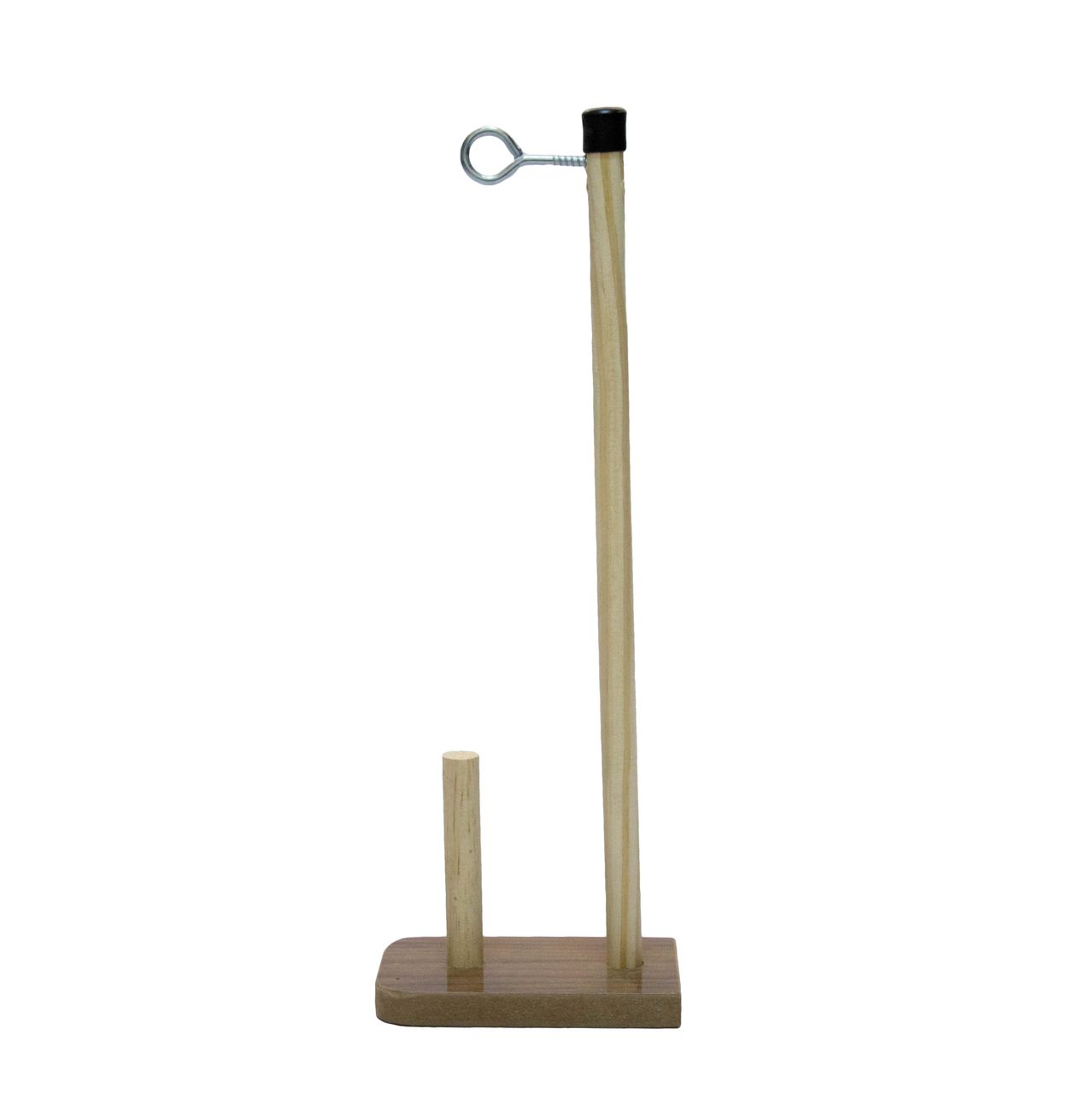 Porta Fio de madeira para um cone de linha