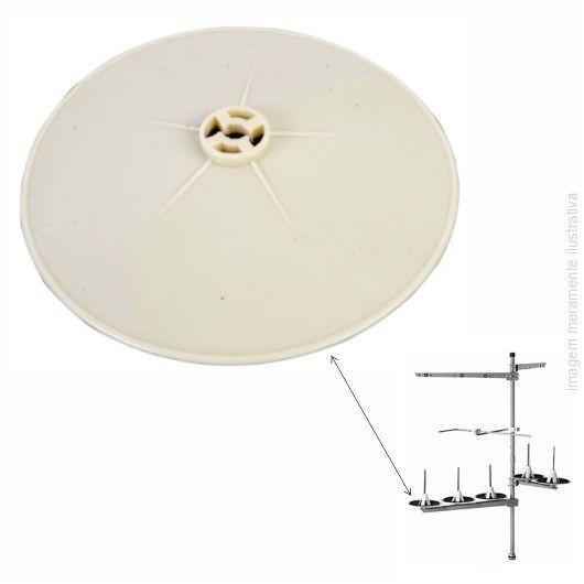Prato - Disco - Suporte co cone de Linha para Porta fios industriais