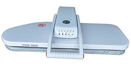 Prensa de passar roupas c/ vapor 1600 watts de potência e área de 80 x 28 cm