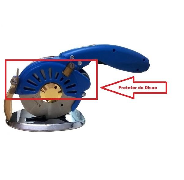 Protetor Frontal do Disco Máquina de corte Direct Drive - Sistema de proteção da faca 12