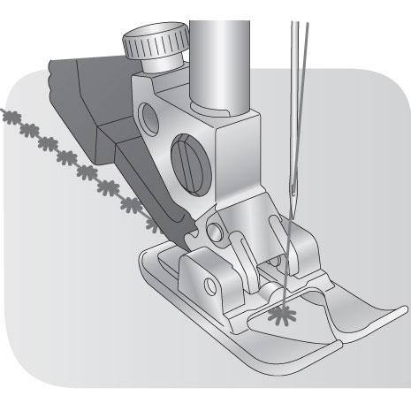 Sapatilha Aberta para Pontos Decorativos para sistema IDT™ - Original PFAFF