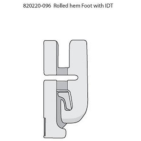 Sapatilha para Bainha Estreita de 4 mm com sistema IDT™ - Original PFAFF