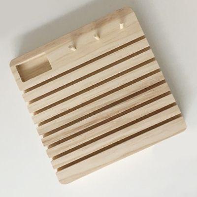 Suporte porta Régua Patchwork madeira