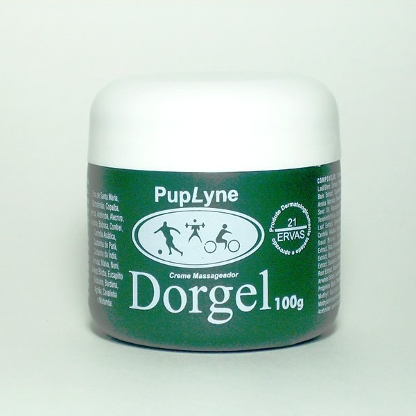 Dorgel - Creme massageador - Pote 100g  - Magnephoton