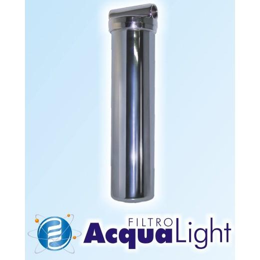 Pré Filtro p/ Chuveiros, Pias, Banheiras, Fluxo de Água em geral. (Bronze Cromado)  - Magnephoton