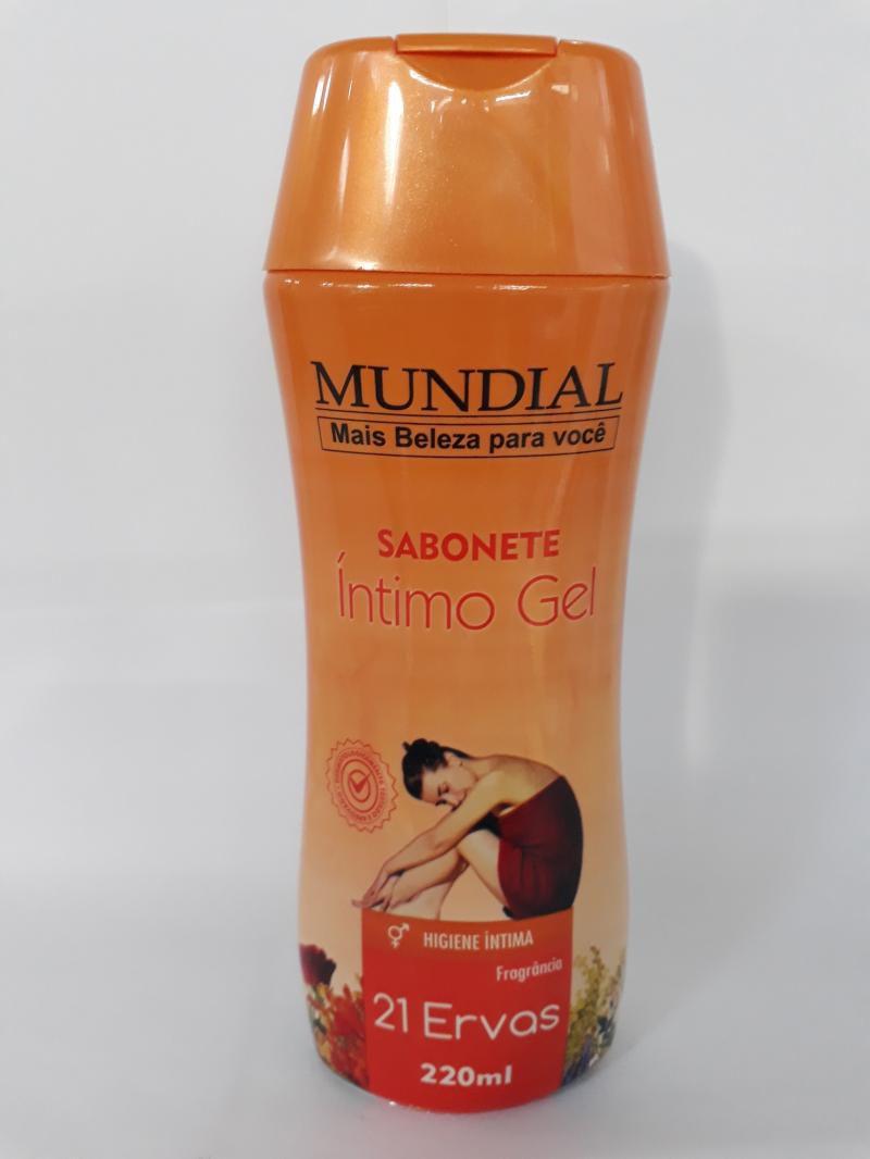 SABONETE ÍNTIMO GEL MUNDIAL 21 ERVAS - 220 ml  - MagnePhoton