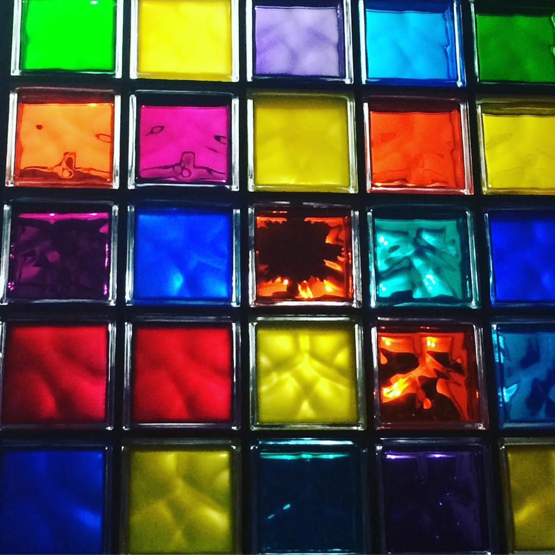 Suporte Laje Solar Ecolaje C/ Bloco Vidro Colorido ( Kit 02 )  - MagnePhoton