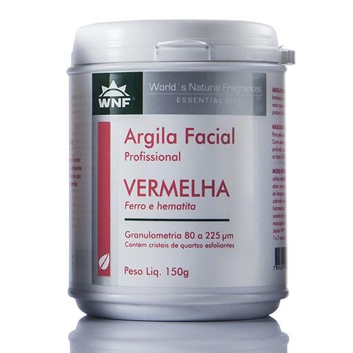 ARGILA FACIAL VERMELHA 150g - WNF