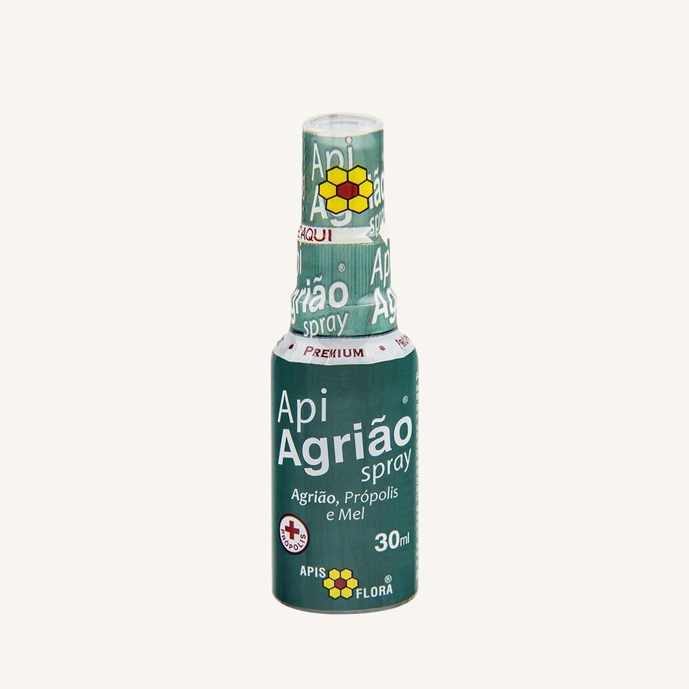 APIAGRIÃO SPRAY PRÓPOLIS, MEL E AGRIÃO 30mL – Apis Flora