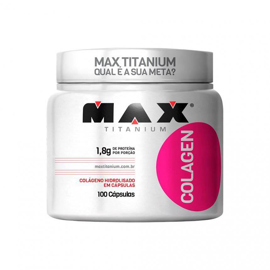 BIO COLAGEN 100 CÁPSULAS – Max Titanium