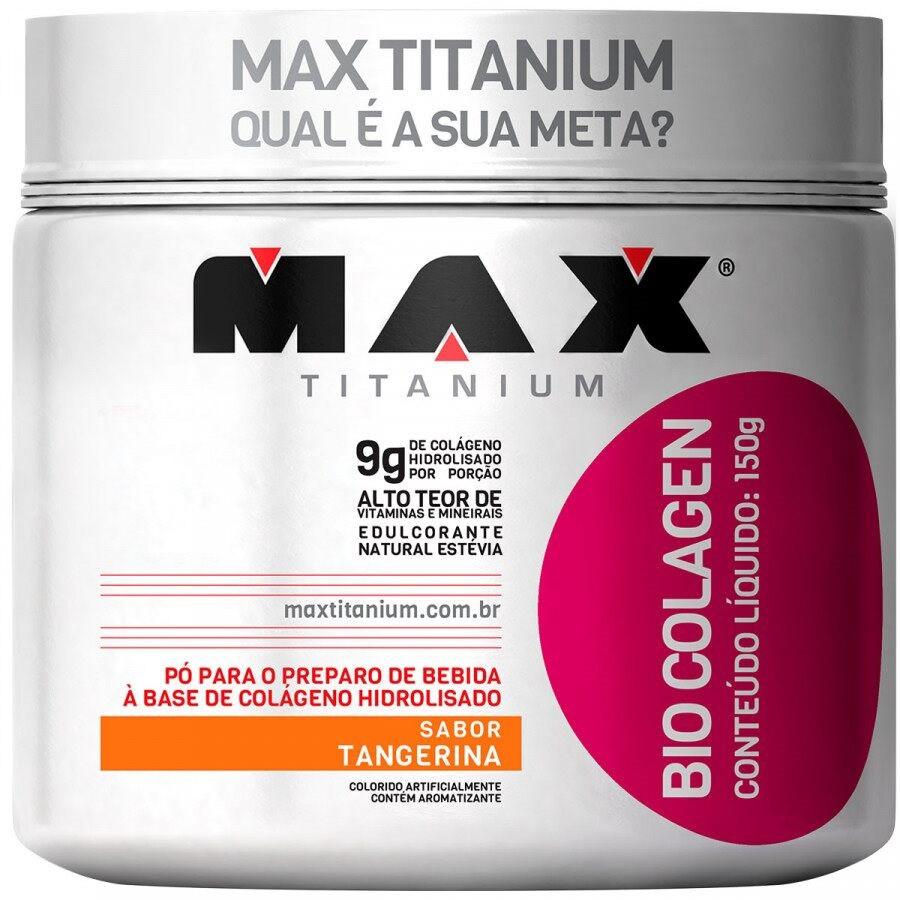 BIO COLAGEN 150g TANGERINA – Max Titanium