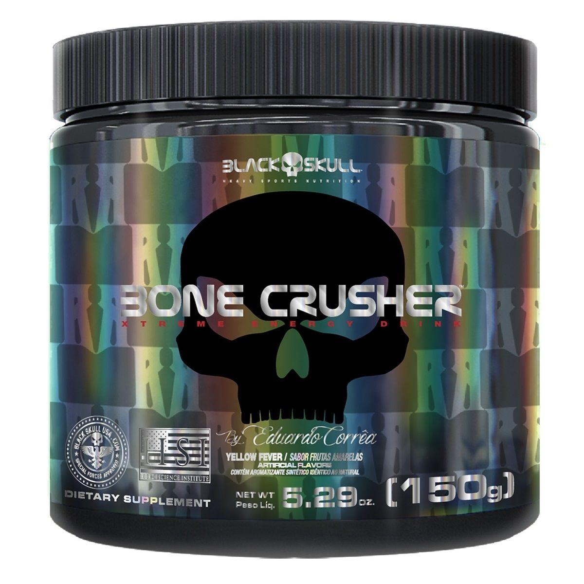 BONE CRUSHER LIMÃO 150g – Black Skull