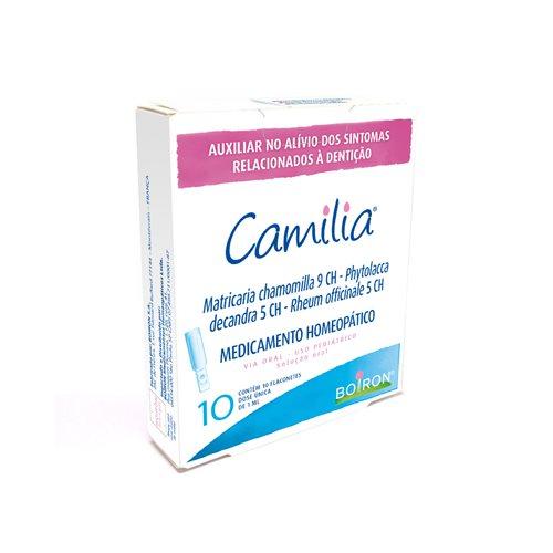 CAMILIA  – Auxiliar no alívio dos sintomas relacionados a dentição