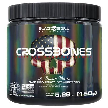 CROSSBONES DAMASCO COM PIMENTA 150G – Black Skull