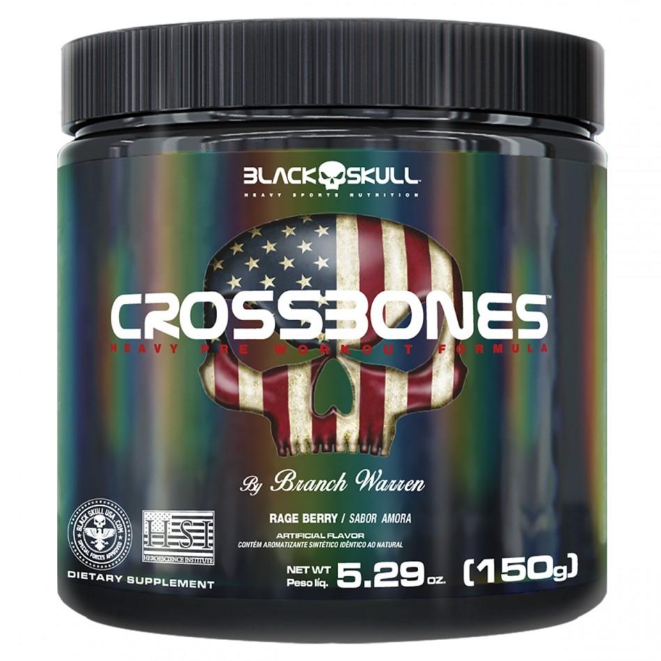 CROSSBONES AMORA 150G – Black Skull