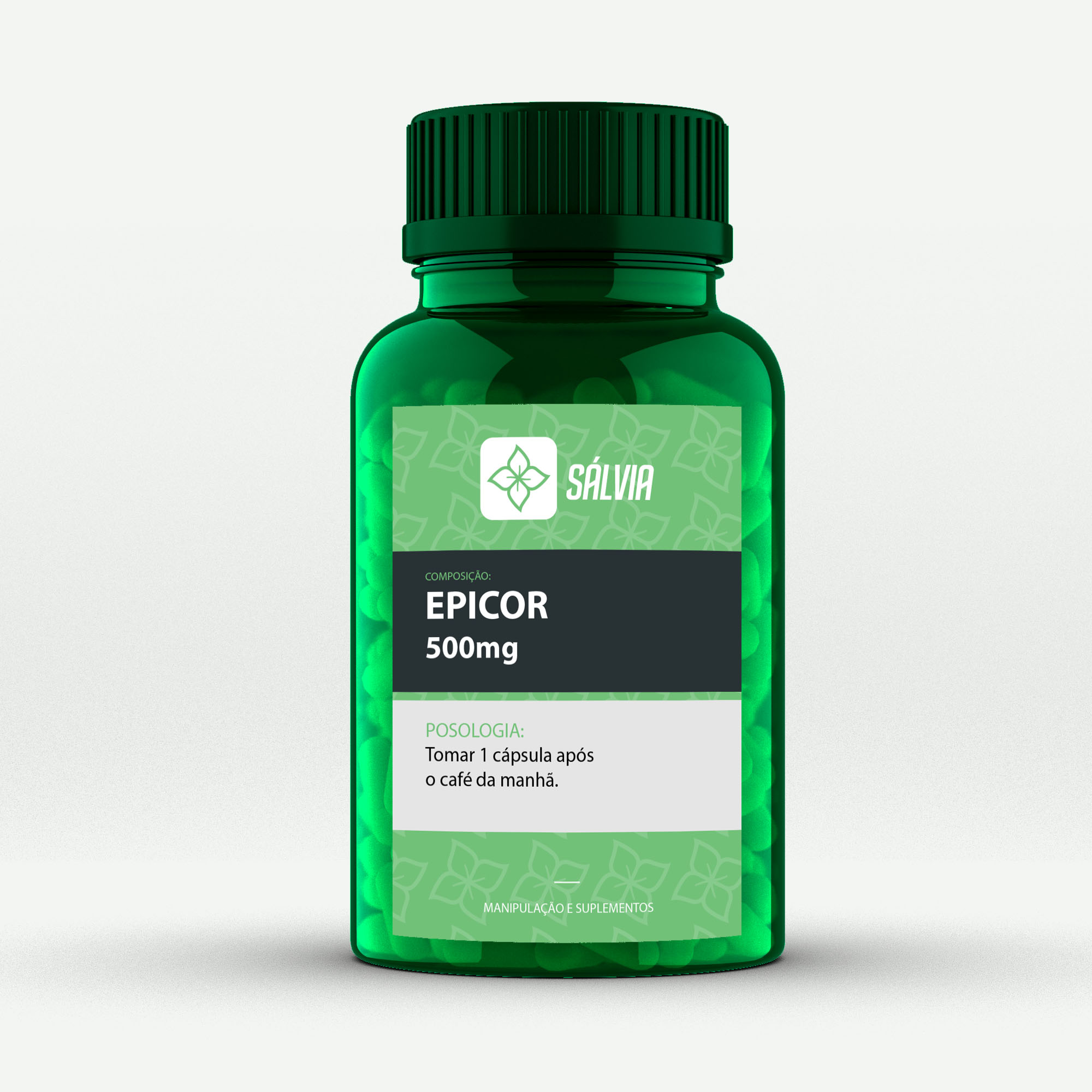 EPICOR 500mg - Cápsulas