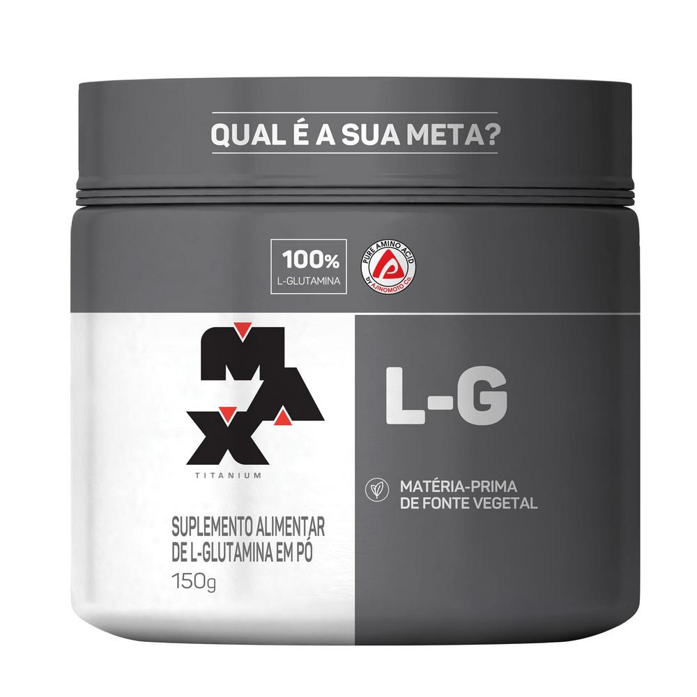GLUTAMINA L-G 150g – Max Titanium