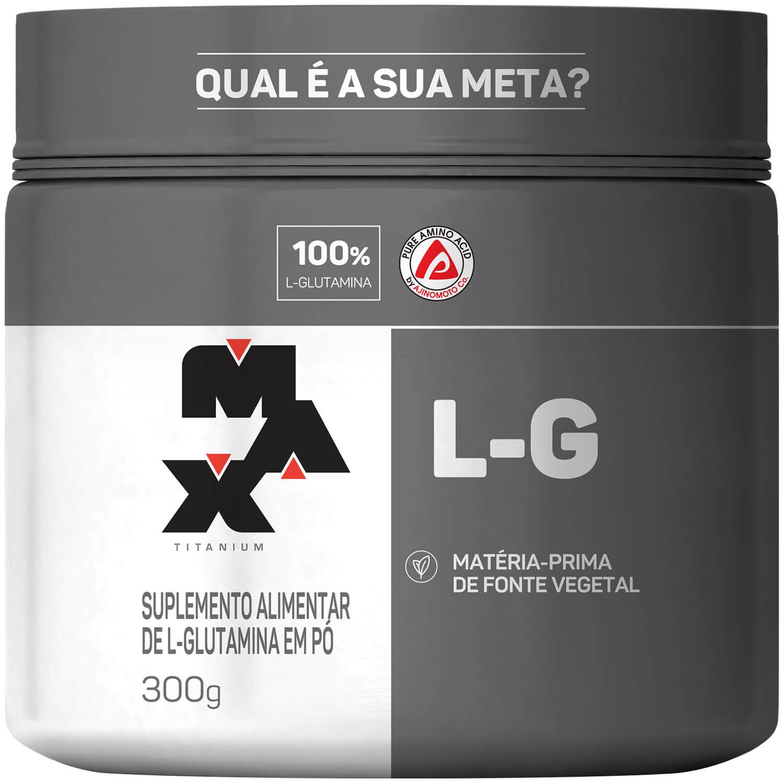 GLUTAMINA L-G 300g – Max Titanium