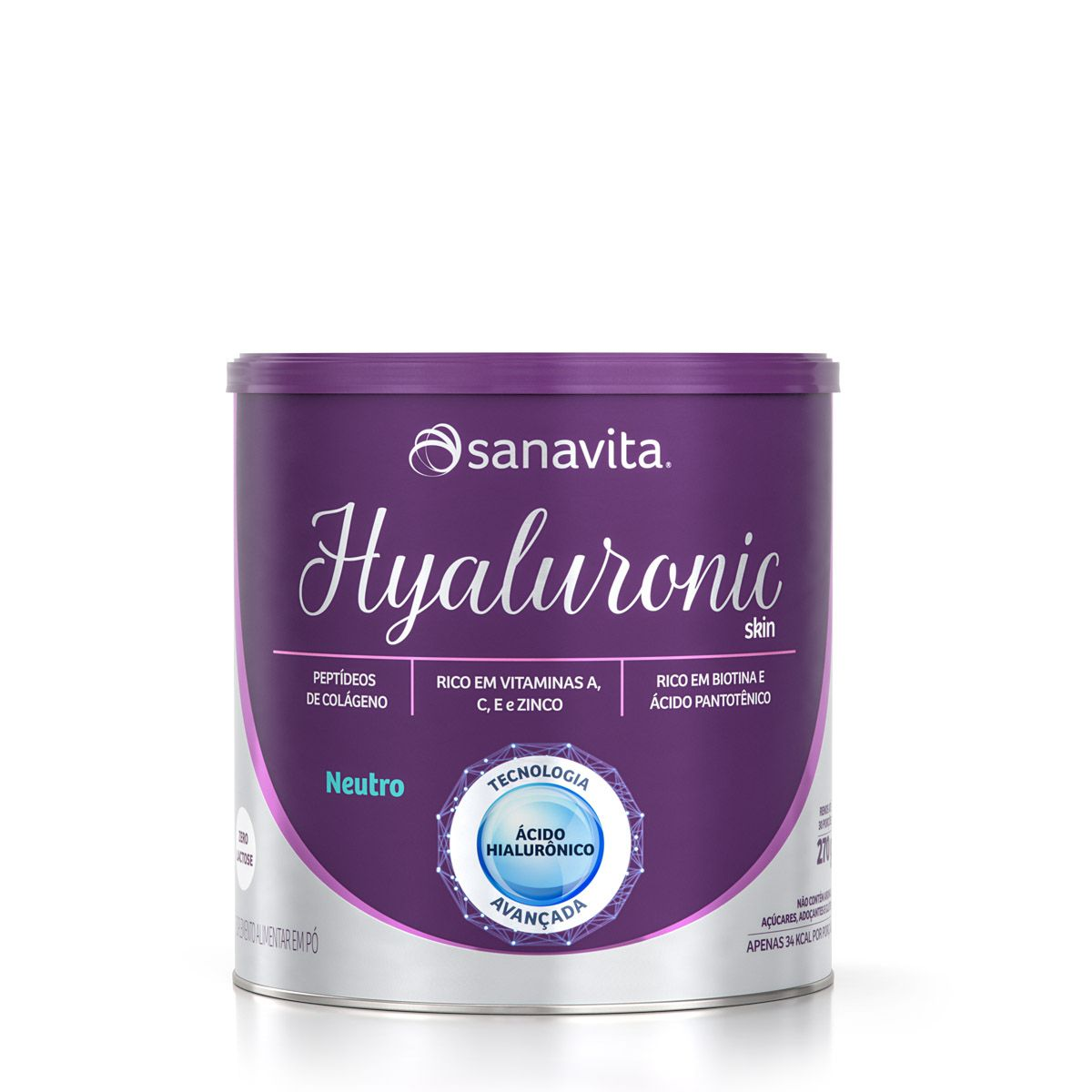HYALURONIC SKIN NEUTRO 270g - Sanavita