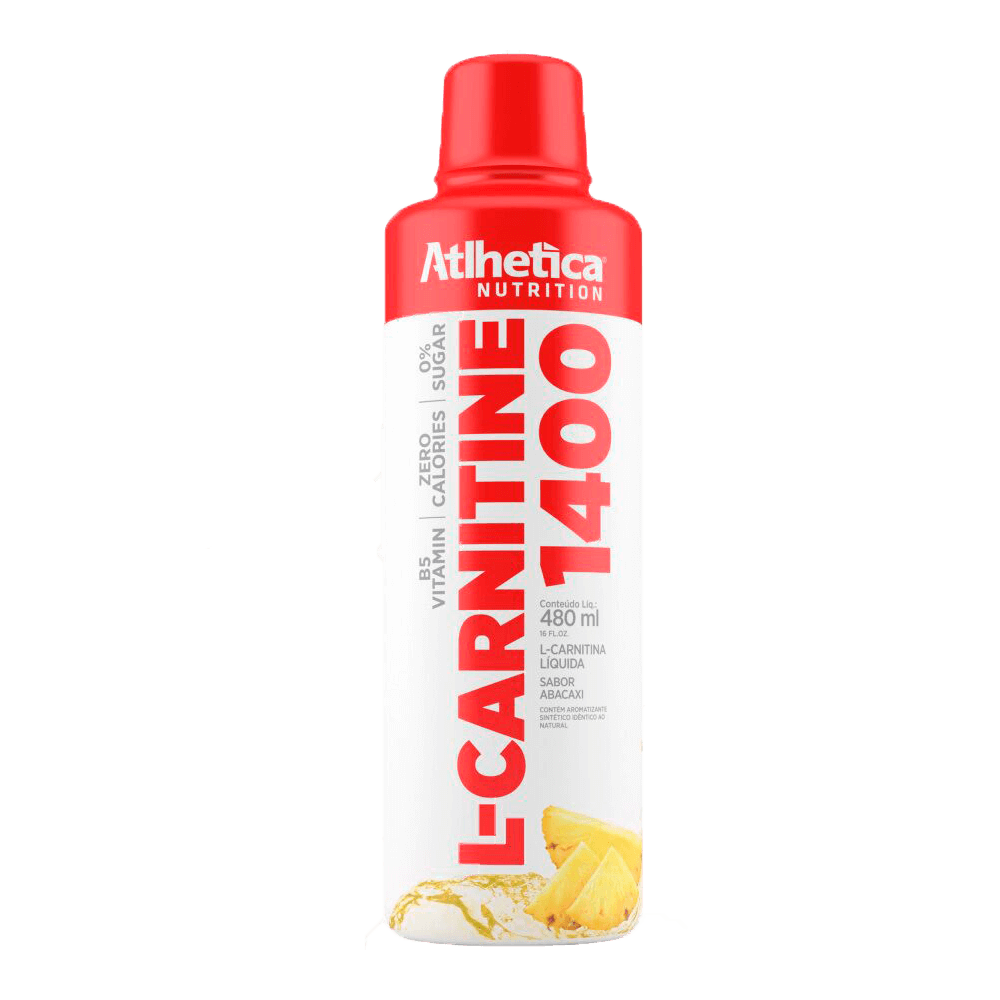 L CARNITINE 1400 ABACAXI 480ML - Atlhetica