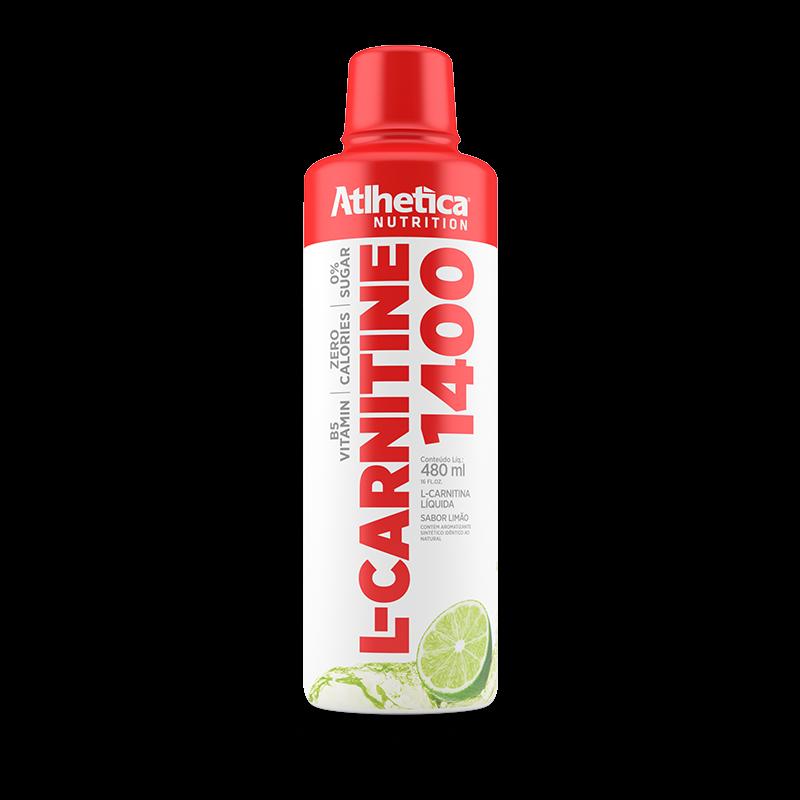 L CARNITINE 1400 LIMÃO 480ML - Atlhetica