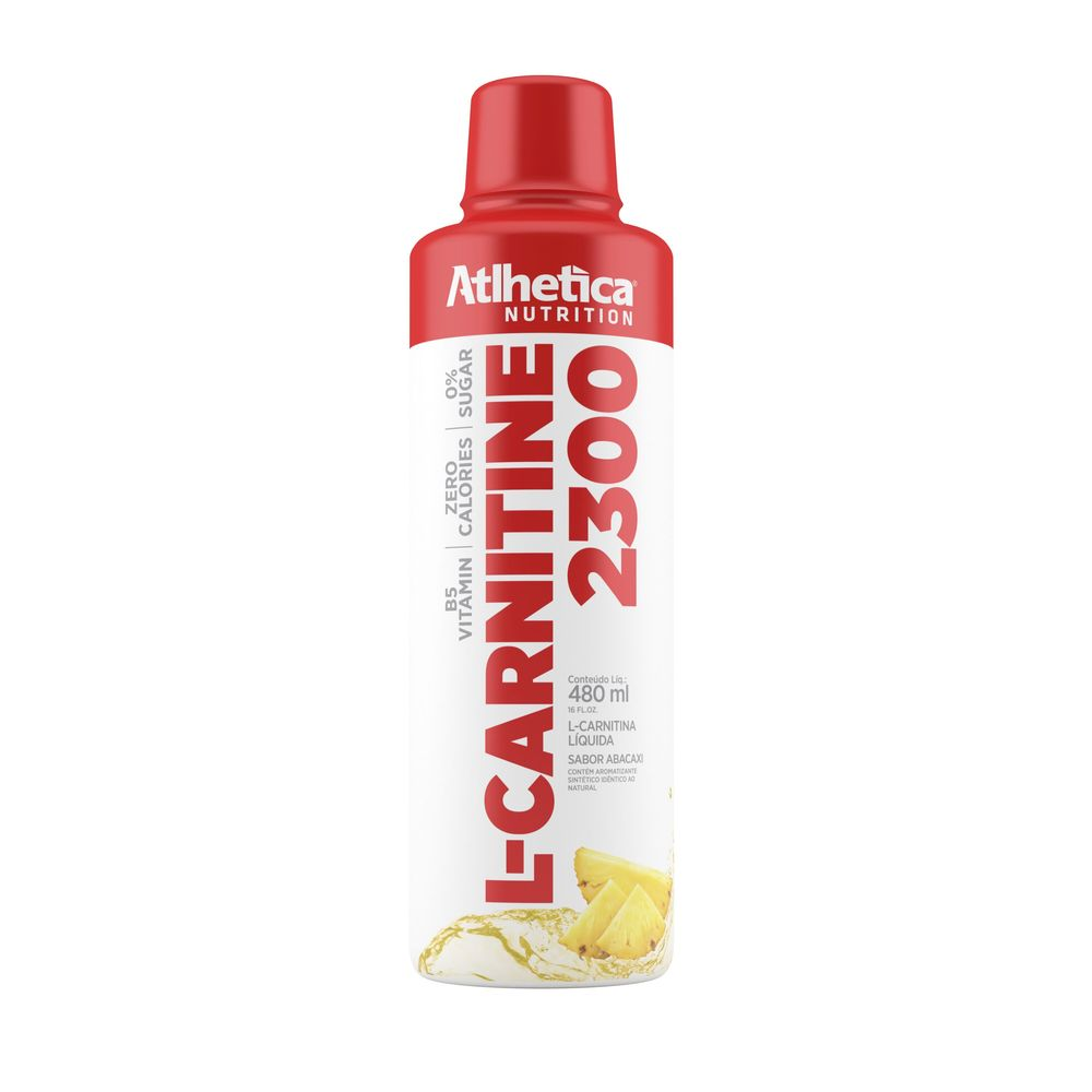 L CARNITINE 2300 ABACAXI 480ML - Atlhetica